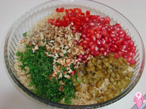 Salata diyet listesi