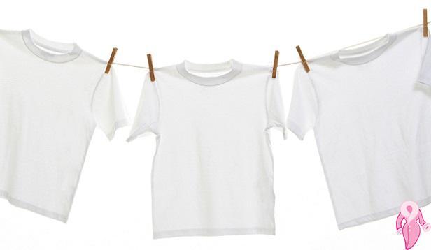 Beyaz Çamaşırlardaki Sarı Lekeleri Nasıl Çıkartırız?