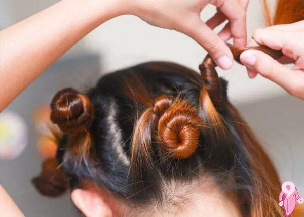 Evde Isı Kullanmadan Saç Dalgası Nasıl Yapılır?
