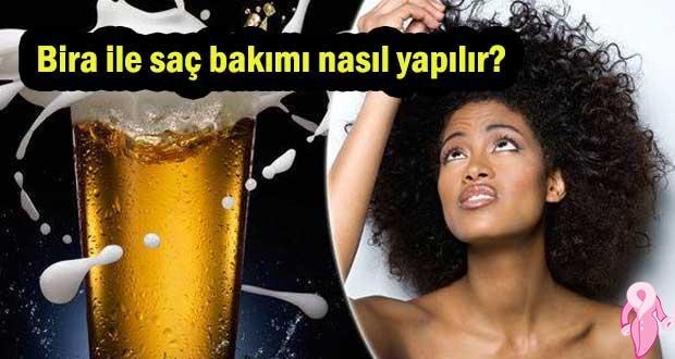 Bira ile saç bakımı nasıl yapılır?