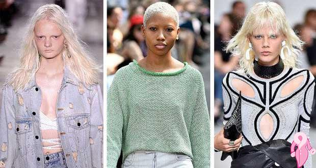 Beyaz Saç Rengi Modası Kadınlar Kulübü