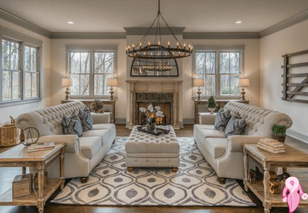 Salon ve oturma odas dekorasyonu 2017 2018 kad nlar for Classic full house quotes