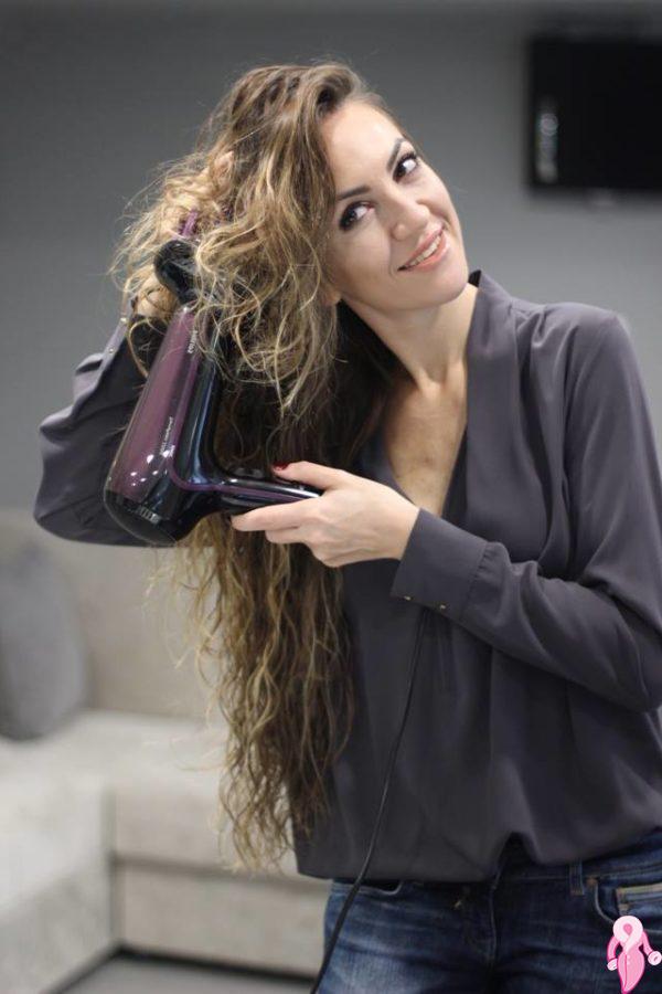 Saç Kurutma Makinesiyle Dalgalı Saç Yapımı