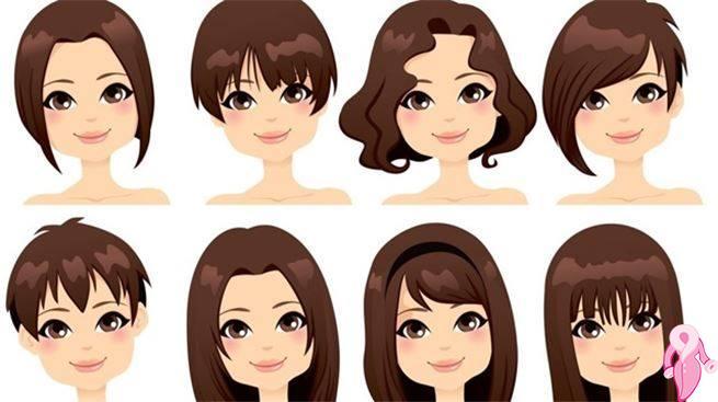 Yüz şekline göre saç ayırma şekilleri