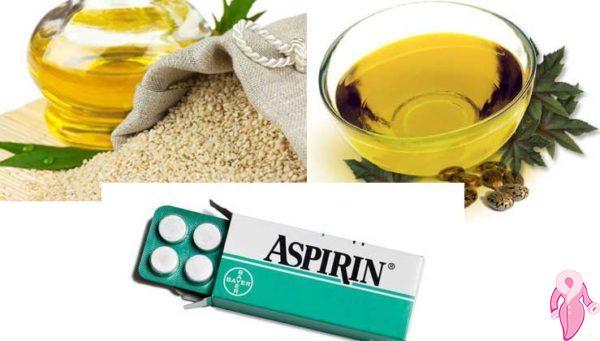 Aspirin saç uzatma maskesi