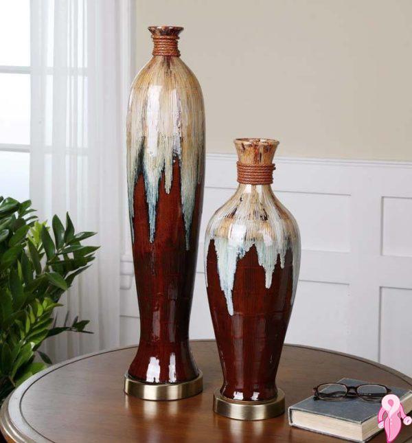 Daha şık evler için dekoratif vazo modelleri