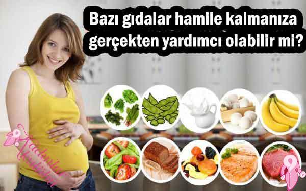 Bazı gıdalar hamile kalmanıza gerçekten yardımcı olabilir mi?