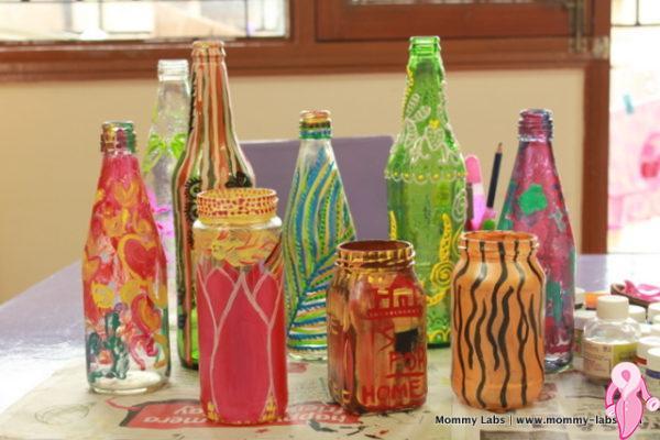Akrilik Boya Ile Rengarenk Dekorasyon Kadınlar Kulübü