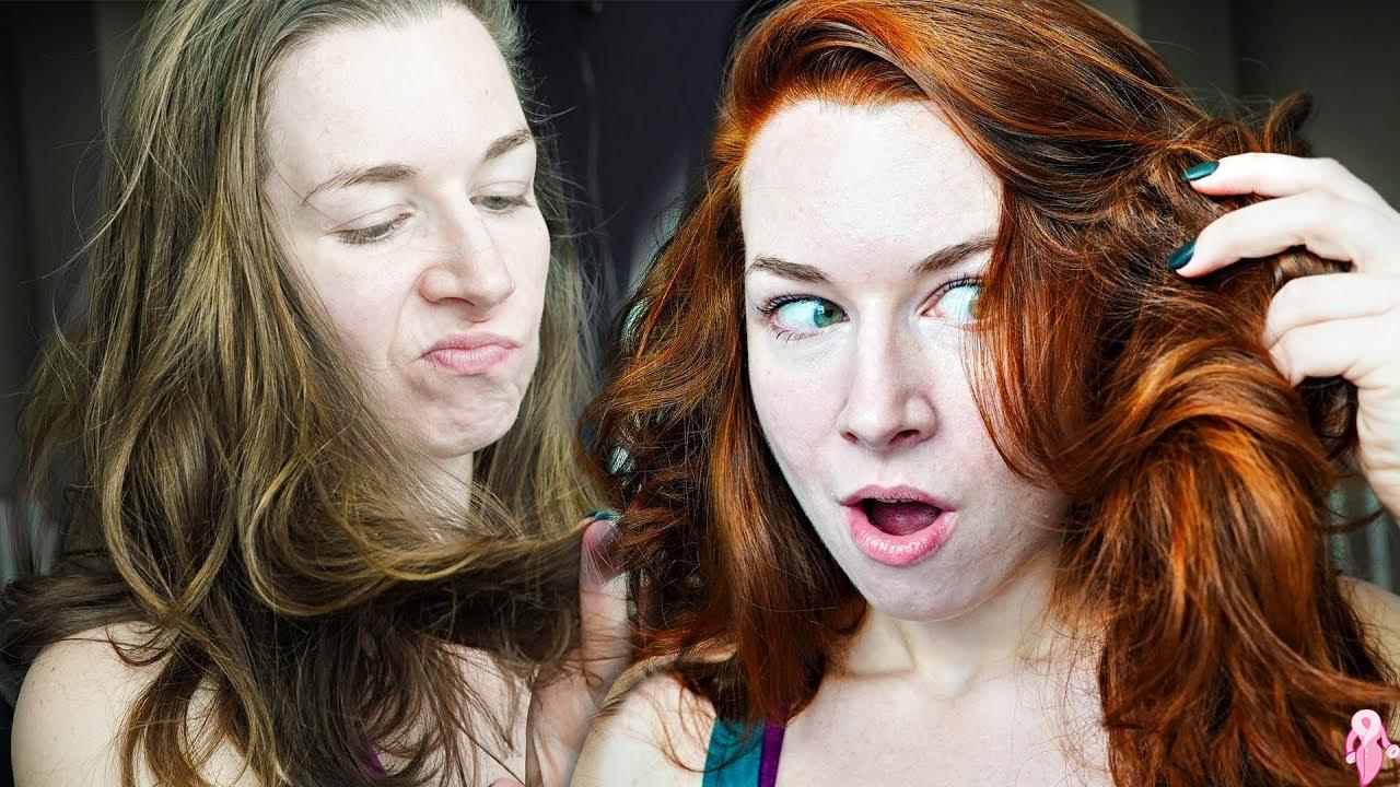 Hint Kınası İle Saç Boyama