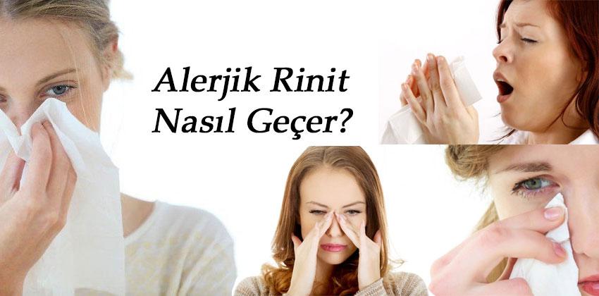 Alerjik Rinit Nasıl Geçer? Doğal Tedavi Yöntemleri