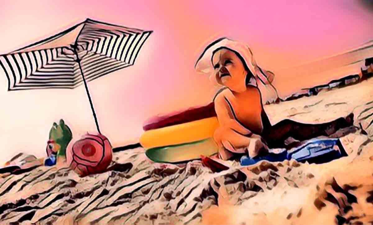 Çocuklarda Güneş Çarpması