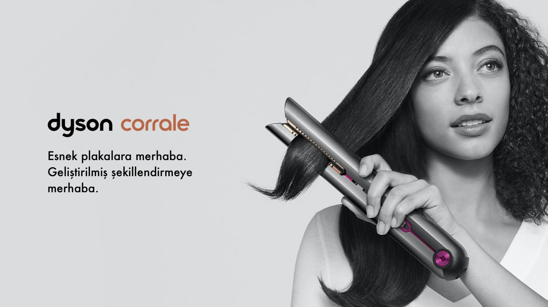 Dyson Corrale ™ saç düzleştirici