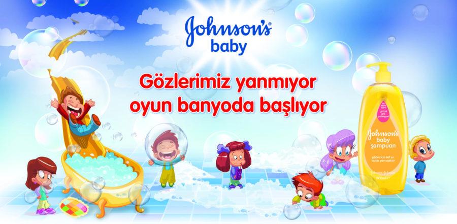JOHNSON'S® BABY ile oyun banyoda başlıyor…