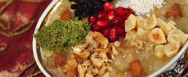 Türk mutfağının vazgeçilmez tatlısı aşure tarifi