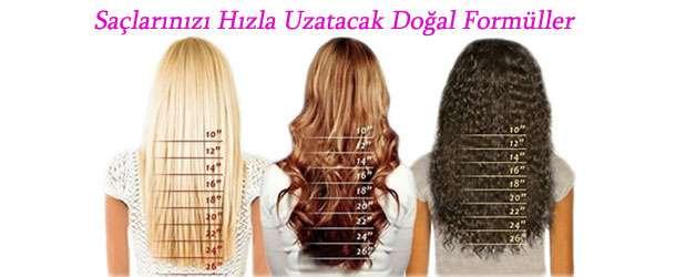 Saçlarınızı Hızla Uzatacak Doğal Formüller
