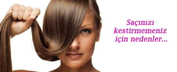 Saçınızı kestirmemeniz için nedenler…
