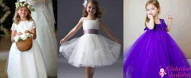 2014 En Şık Çocuk Gelinlik Modelleri
