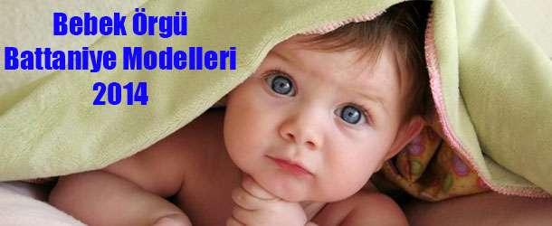 Bebek Örgü Battaniye Modelleri 2014