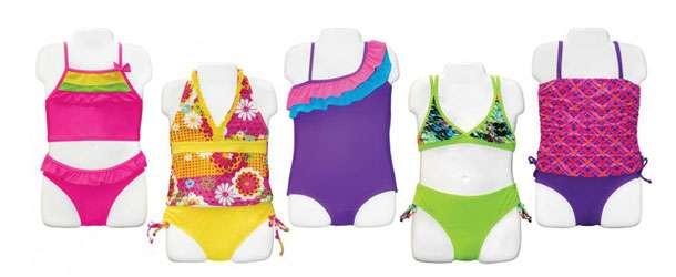 Kız Çocuk Mayo Ve Bikini Modelleri 2015