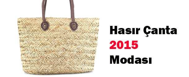 En Güzel Hasır Çanta Modelleri 2015