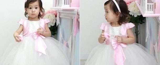 Bebek Gelinlik Modelleri 2015