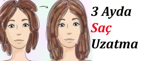 3 Ayda Saç Uzatmak İçin Neler Yapmalı?