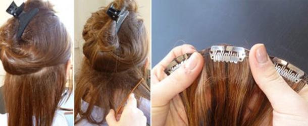 Çıt Çıt Saç Nasıl Takılır? Resimli Anlatım