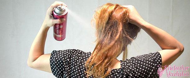 Evde Bitkisel Saç Spreyi Yapımı Resimli Anlatım