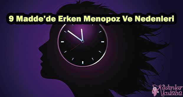 Erken Menopoz