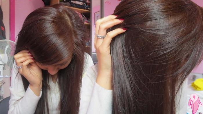 Beyaz saçlara siyah çay ve bektaşi üzümü ile çözüm