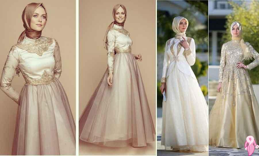 Modern Tesettür Abiye Elbiseleri Göz Kamaştırıyor