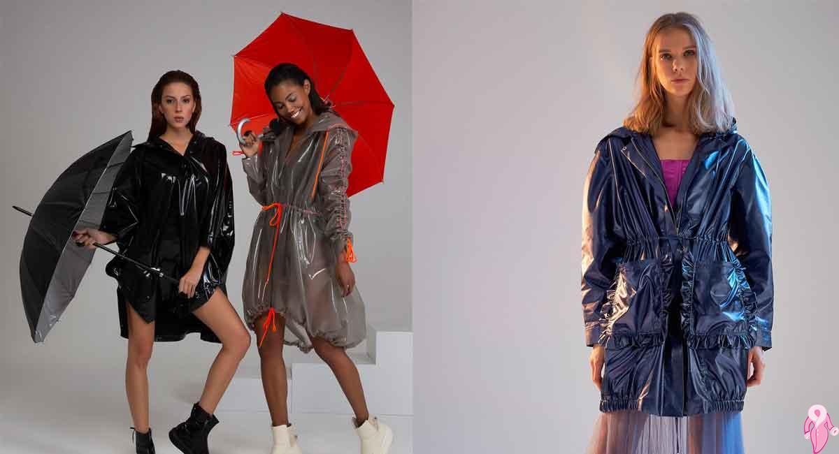 Yağmurluk ve Rüzgarlık Modellerinde Parlaklık Modası