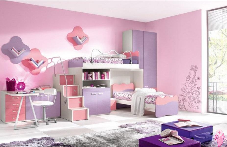 2019 Kız Çocuk Odası Modelleri