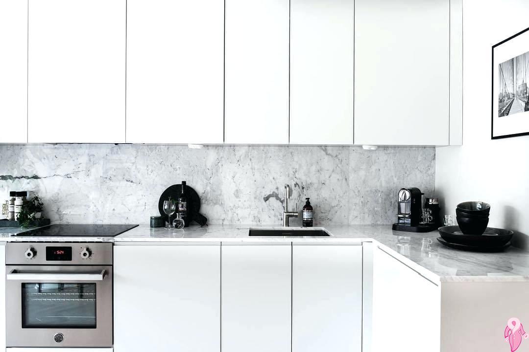 Beyaz Renk Mutfak Dekorasyonu 2019
