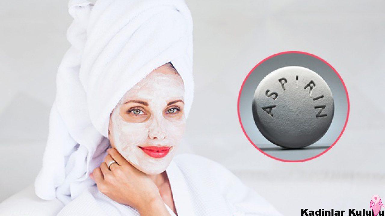 Aspirinle Yüz Maskesi Nasıl Yapılır? Ne İşe Yarar?