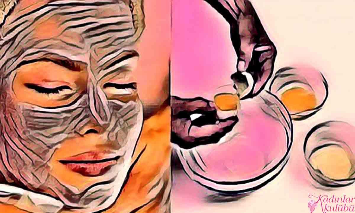 Kırışıklık gidermek için yumurta maskesi