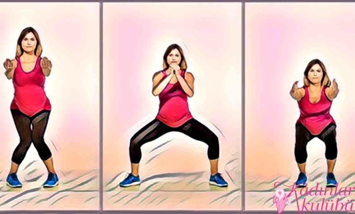 gebelikte squat