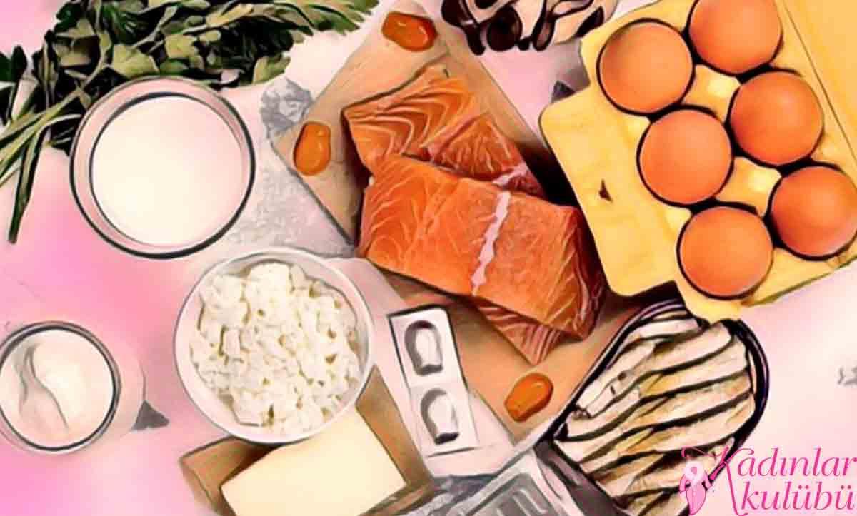 Kalsiyum Ve D Vitamini yiyecekleri