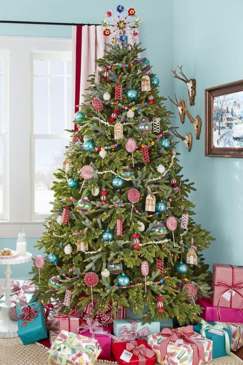 yılbaşı ağacı dekorasyon fikirleri